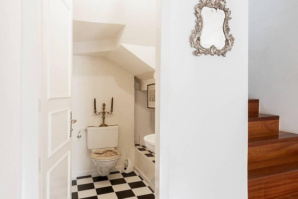WC rez-de-chaussée
