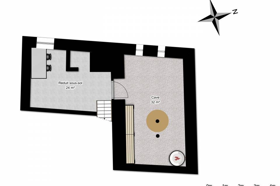 Appartement 4.5 pièces à Praz-de-Fort