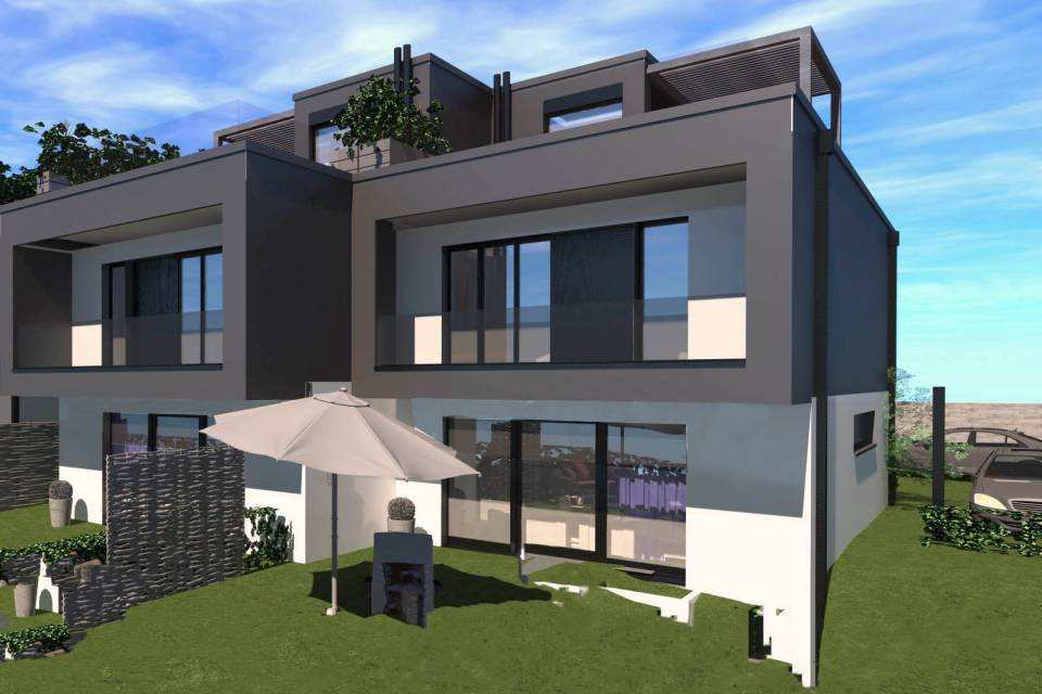Villa contigüe 5 pièces à Vandoeuvres