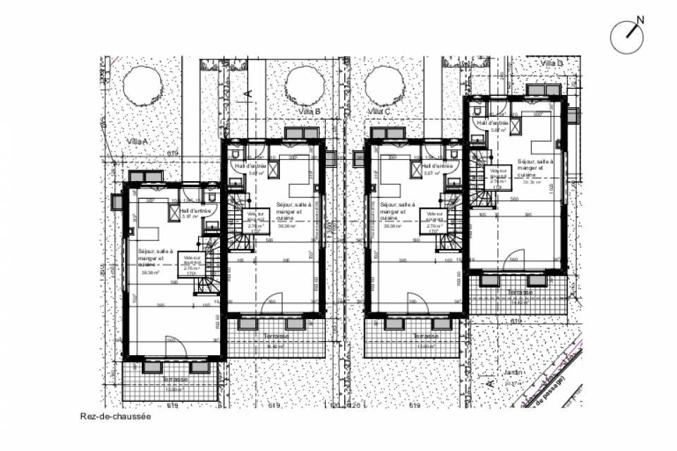 Villa mitoyenne 5 pièces à Vandoeuvres
