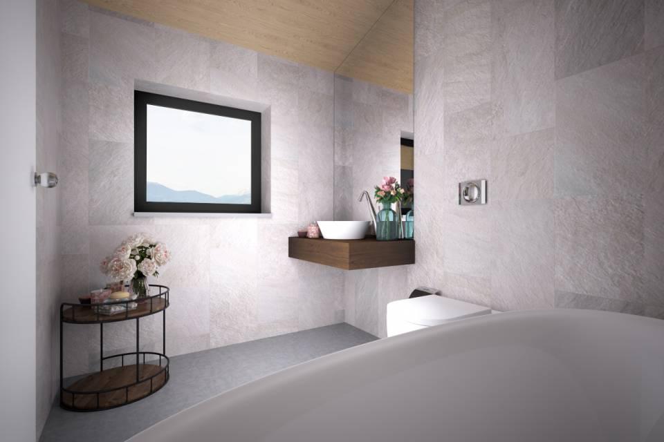 Salle de bain image de synthèse à titre indicatif