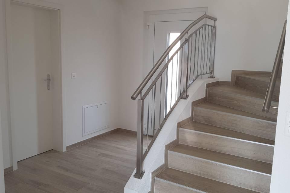Villa jumelle par garages 5.5 pièces à St-Aubin FR