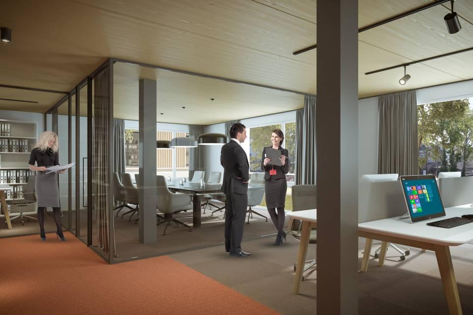 Administratif/Bureau 102 m2 à Bulle