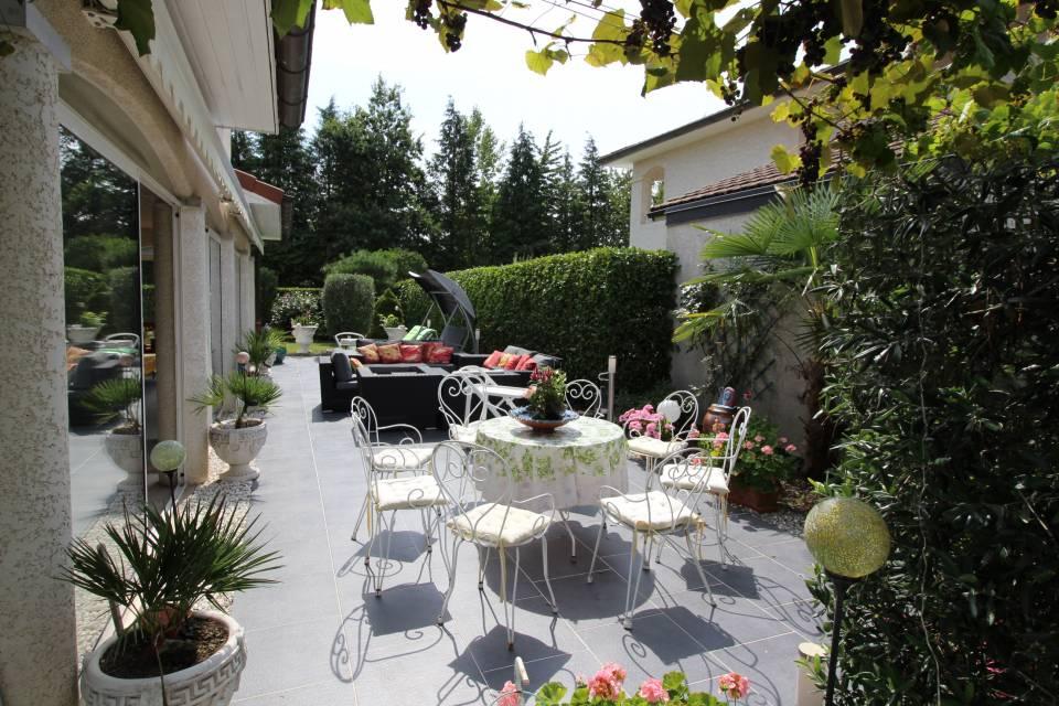 Terrasse agréable