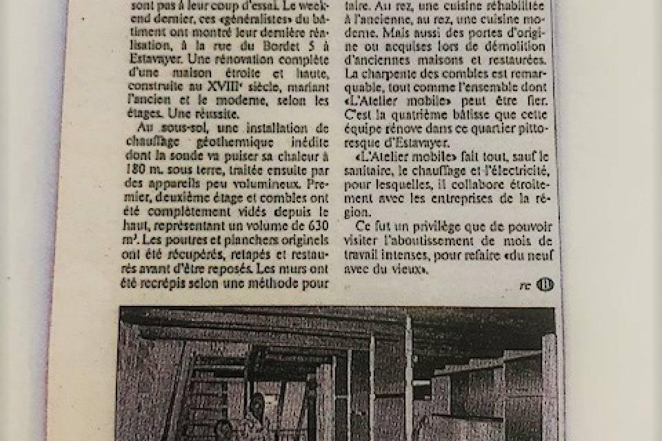 Maison 6.5 pièces à Estavayer-le-Lac