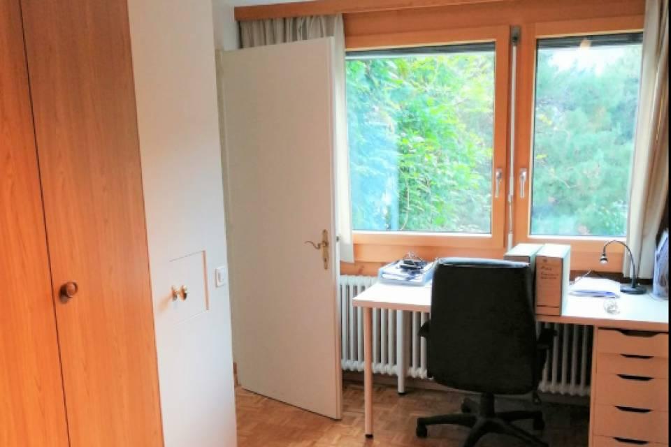 Vue bureau (chambre)