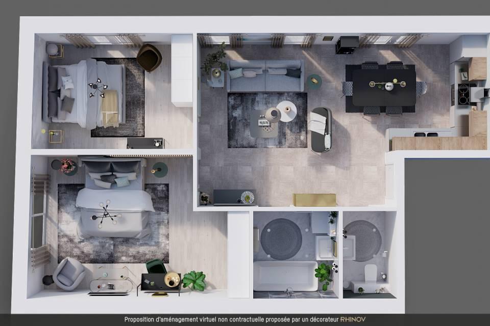 Appartement 3.5 pièces à La Rippe