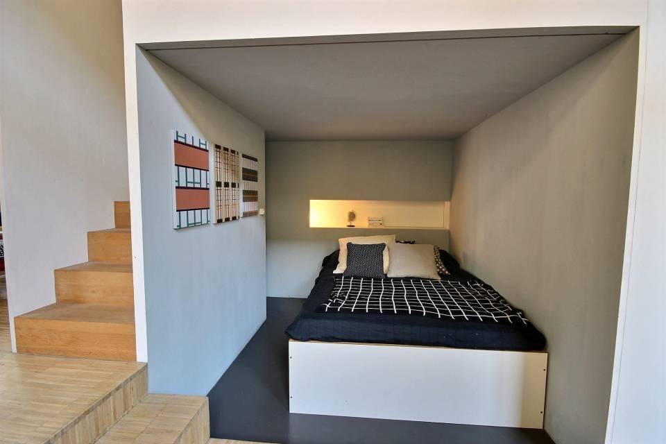 Alcôve 2 ( chambre + mezzanine)