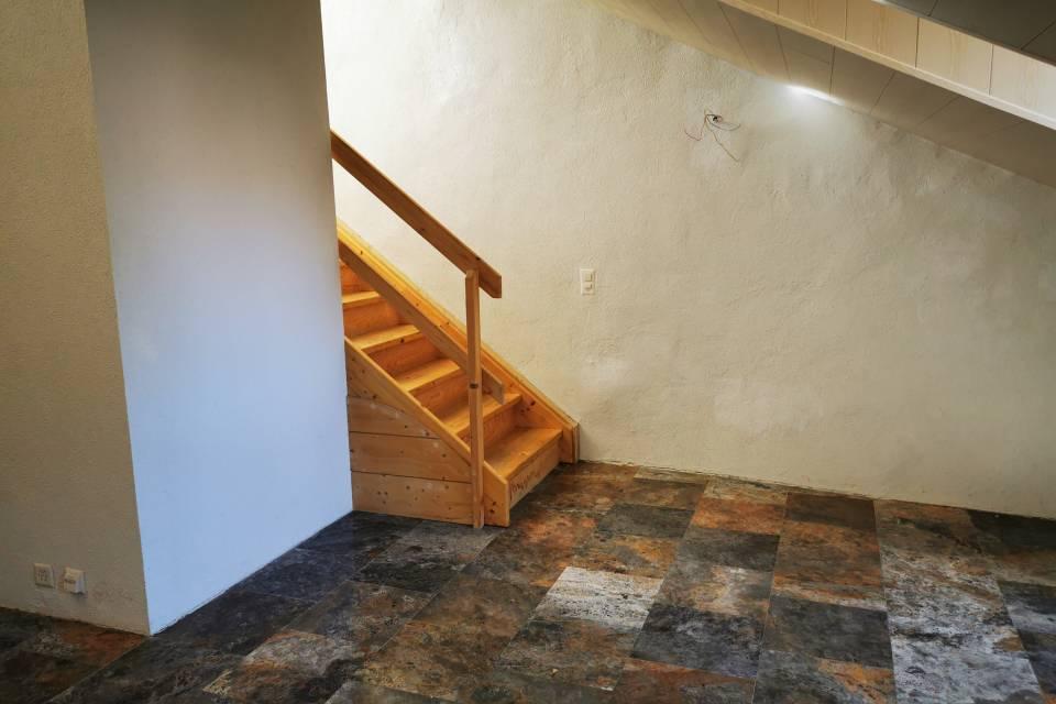 Escaliers séjour