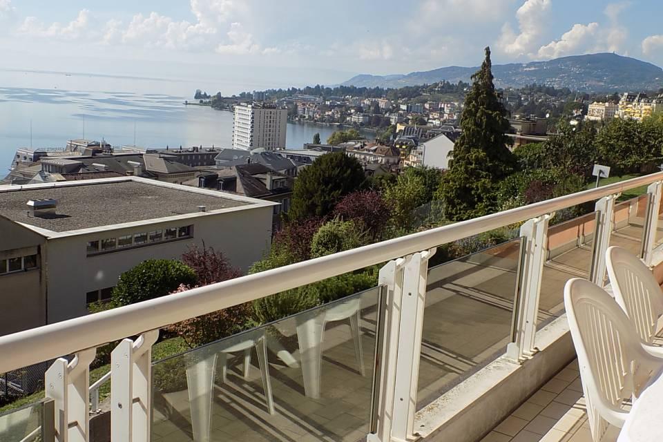 Appartement meublé 3.5 pièces à Montreux