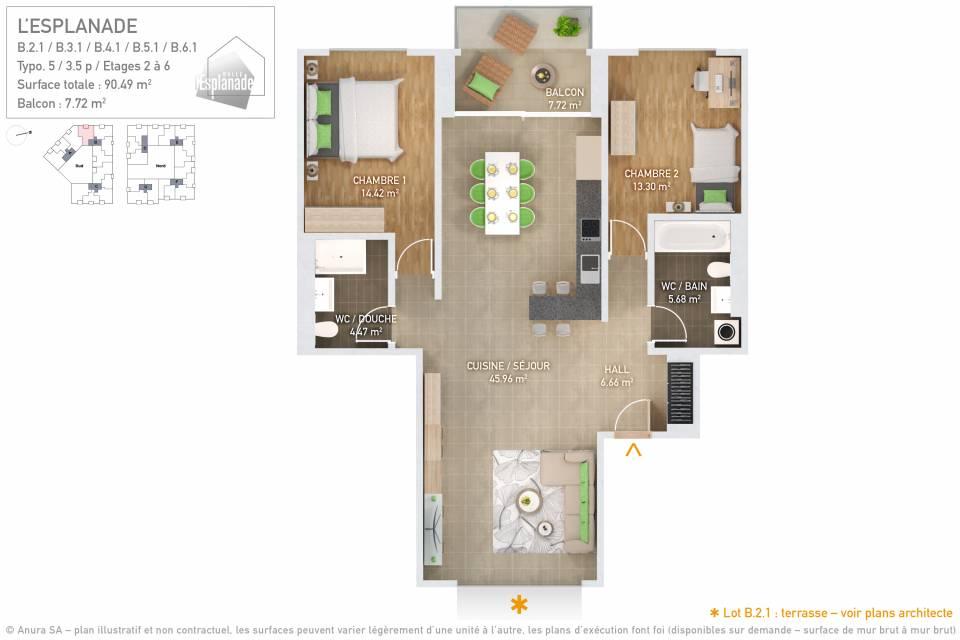 Plan 3D Typo 5
