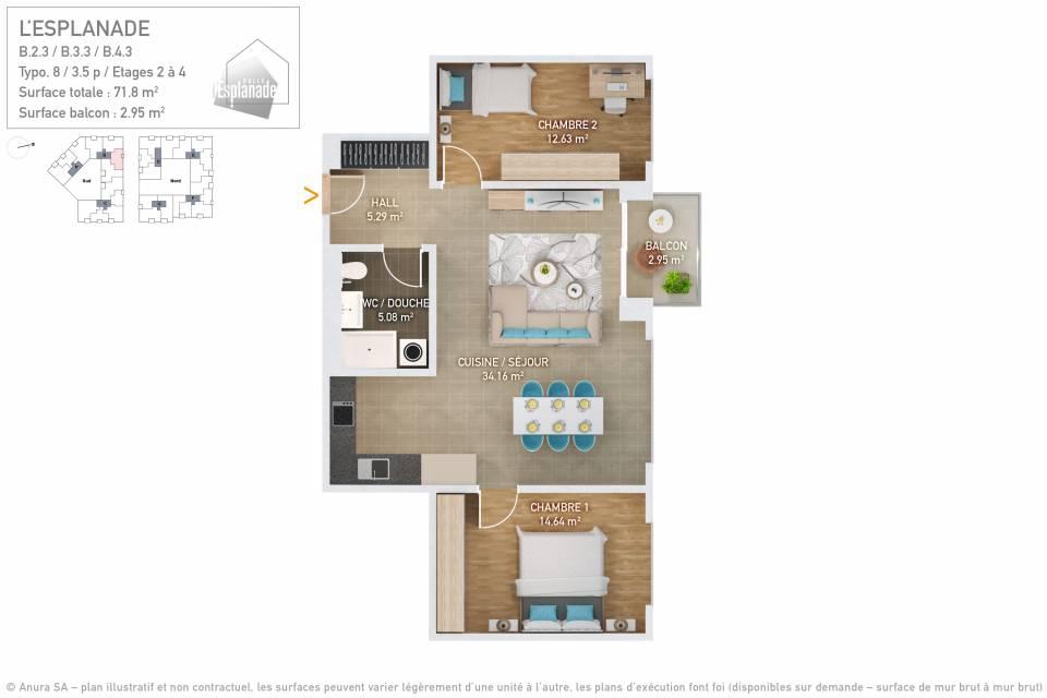 Plan 3D Typo 8