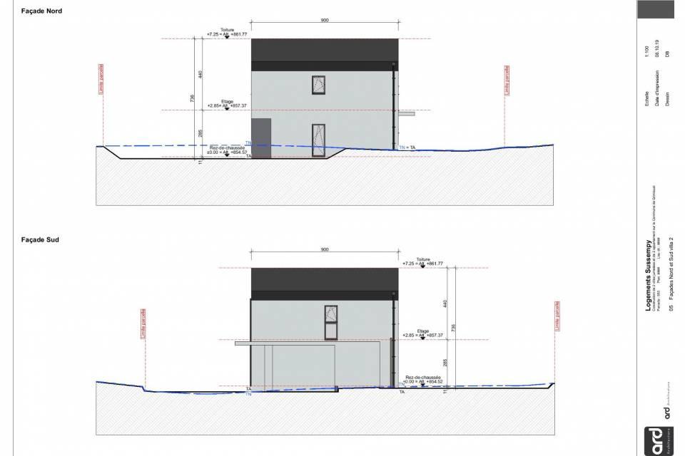 Maison jumelée, 4.5 pièces, 113.00 m2