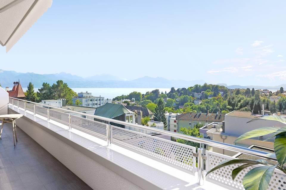 Appartement 1.5 pièces à Lausanne