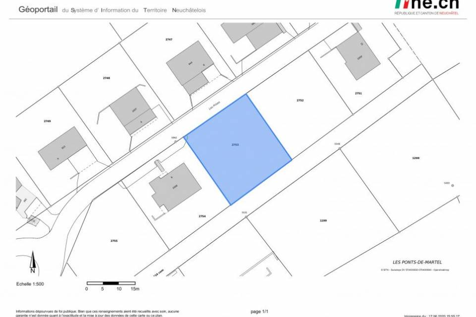 Villa Individuelle 5.5 pièces aux Ponts-de-Martel
