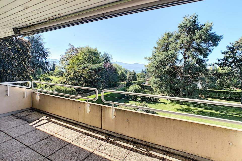 Deux balcons de 12 m2