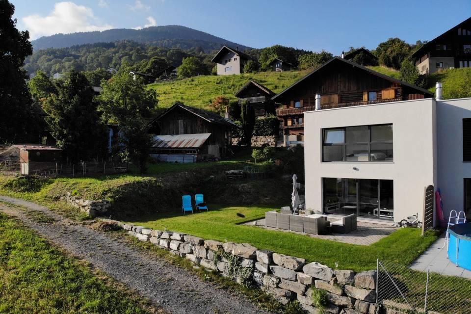 Villa jumelle 4.5 pièces à Choëx