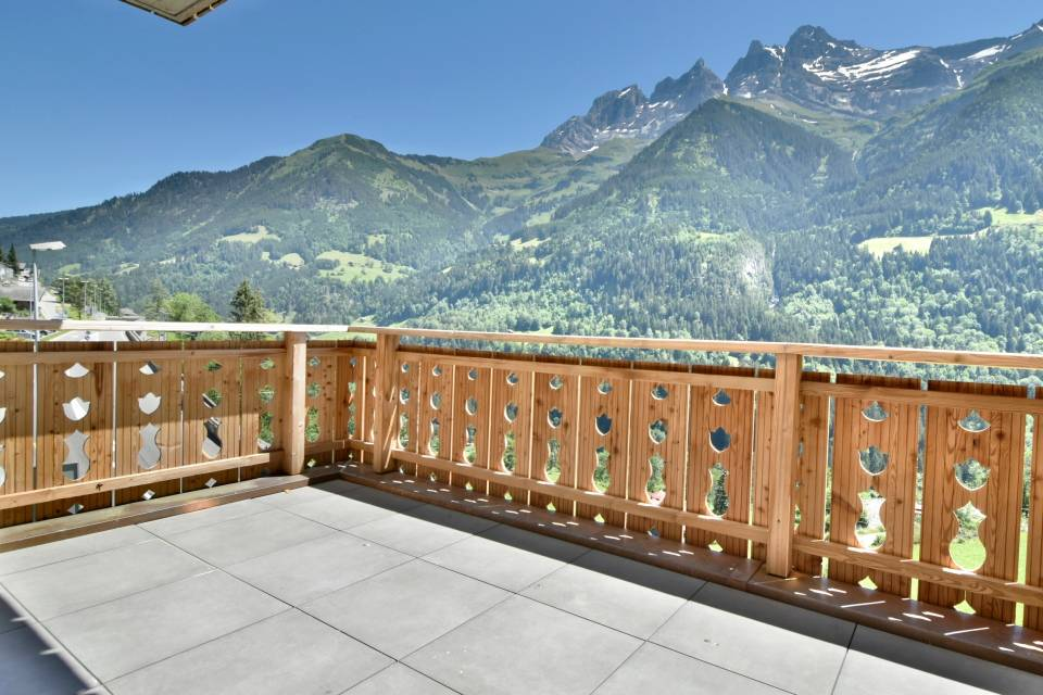 Champéry / Apartment of 2.5 rooms