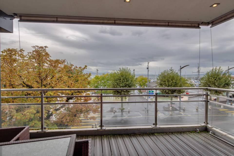 Balcon sud d'env. 13 m2