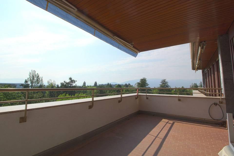 Terrasse 1 avec vue de Genève