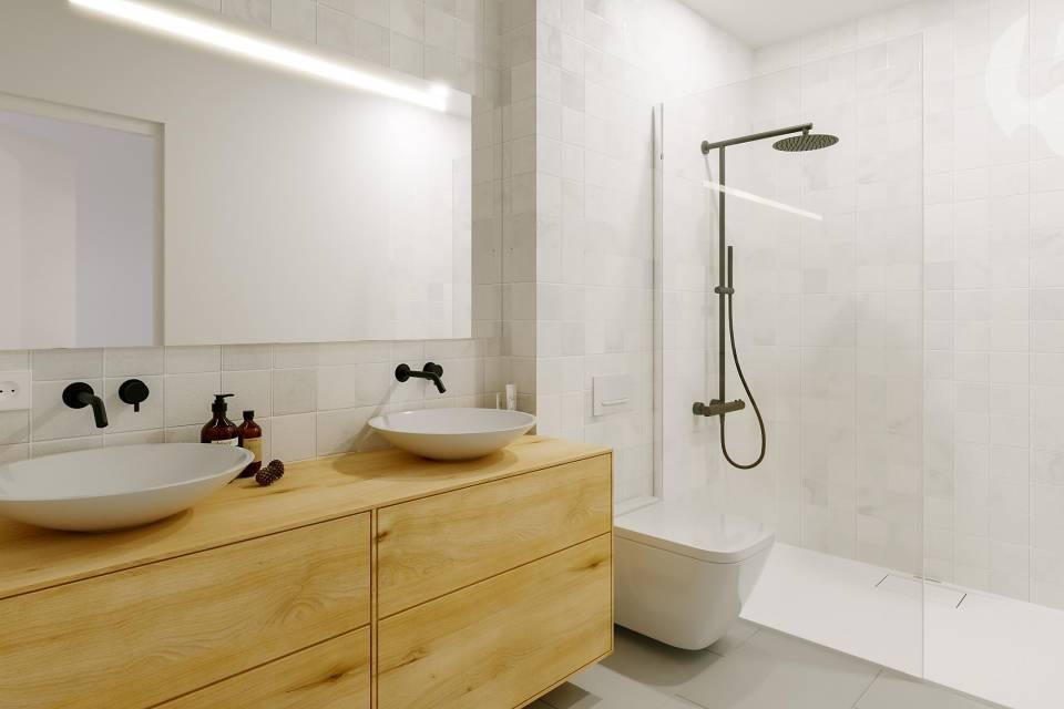 Salle de bains étage parental