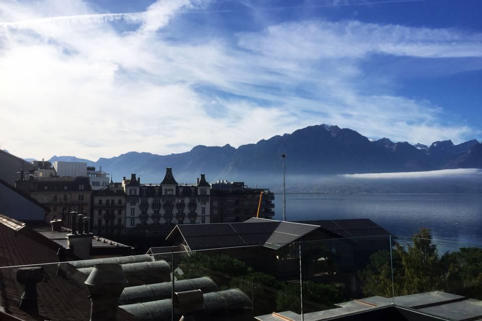 Attique 3.5 pièces à Montreux