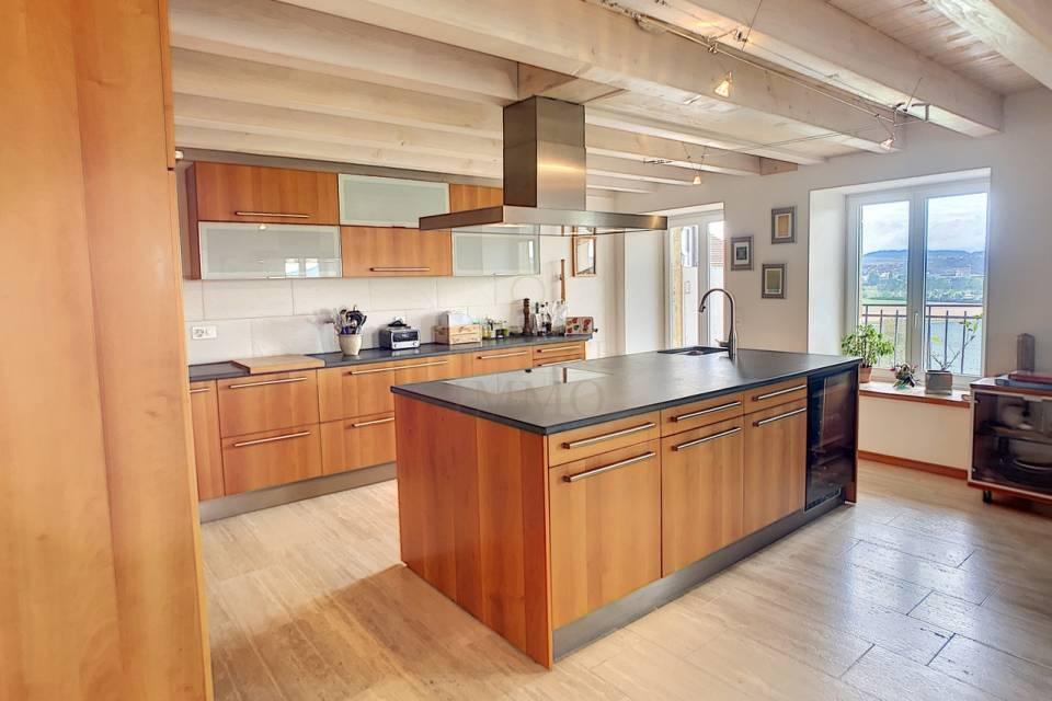 La cuisine de 19m2 ouverte