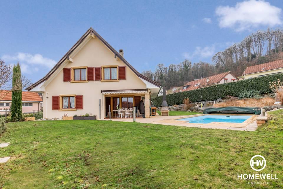Yverdon-les-Bains / Maison de 6.5 pièces