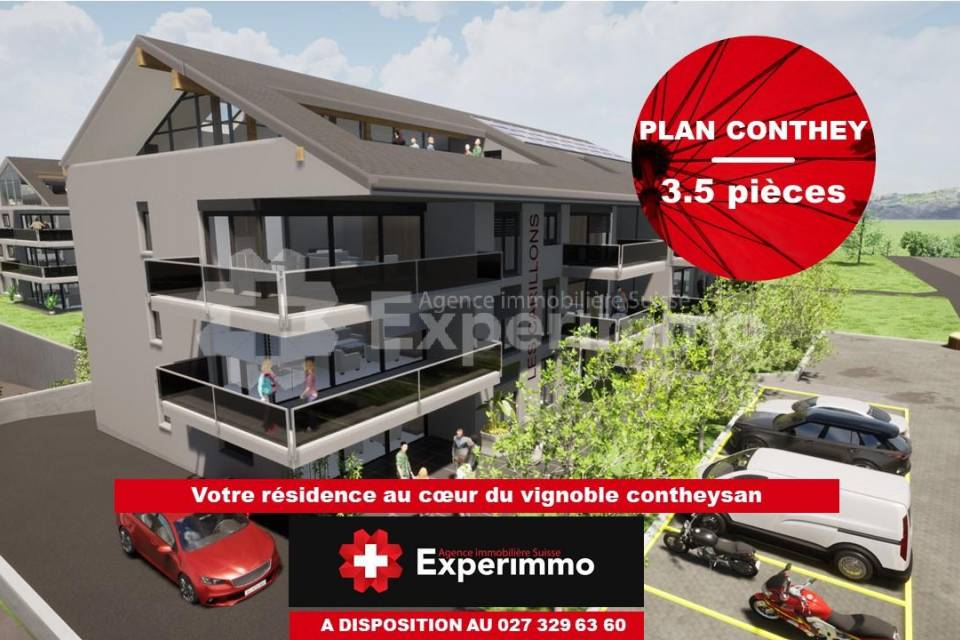Conthey / Appartement de 3.5 pièces