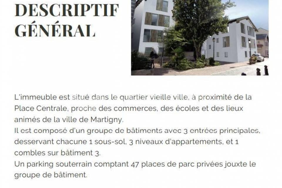 Martigny / Appartement de 2.5 pièces