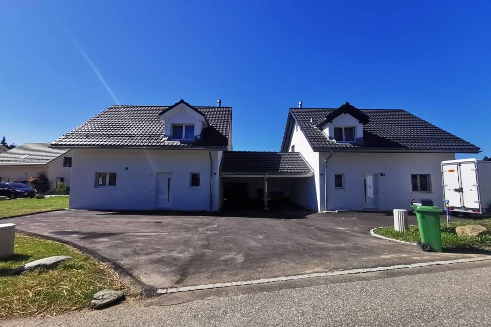 Villa jumelle par garages 5.5 pièces à Châtel-St-Denis