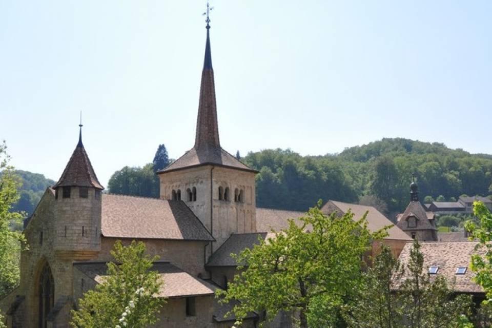 Abbatiale du village