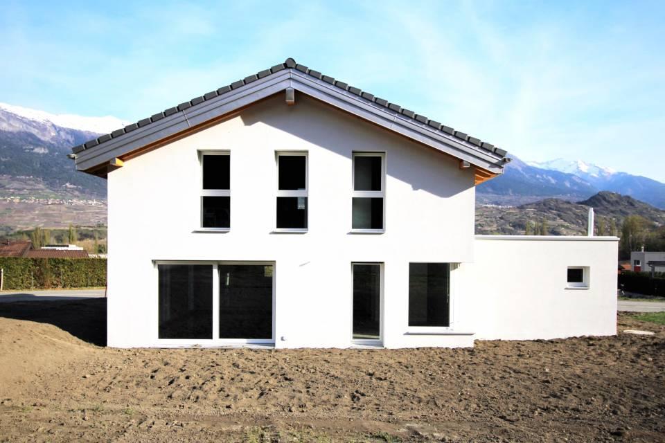 Exemple d'une villa déjà construite