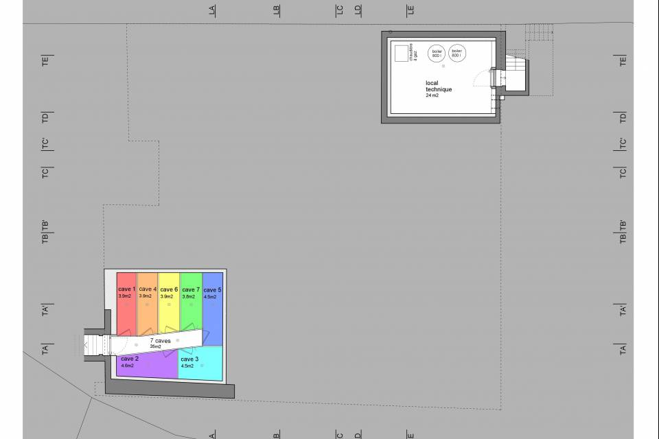 Plan du sous-sol