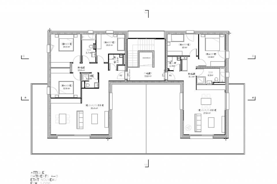 Appartement 2.5 pièces à Saxon