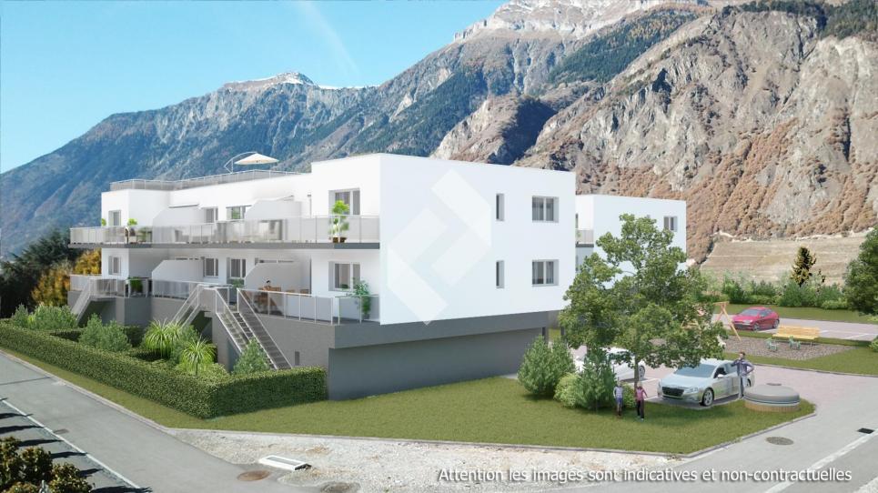 Rez supérieur balcon et jardin privatif