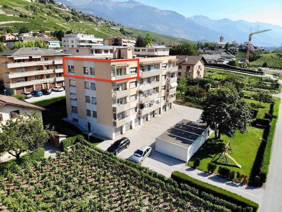 Appartement avec vue, proche du centre de Sierre