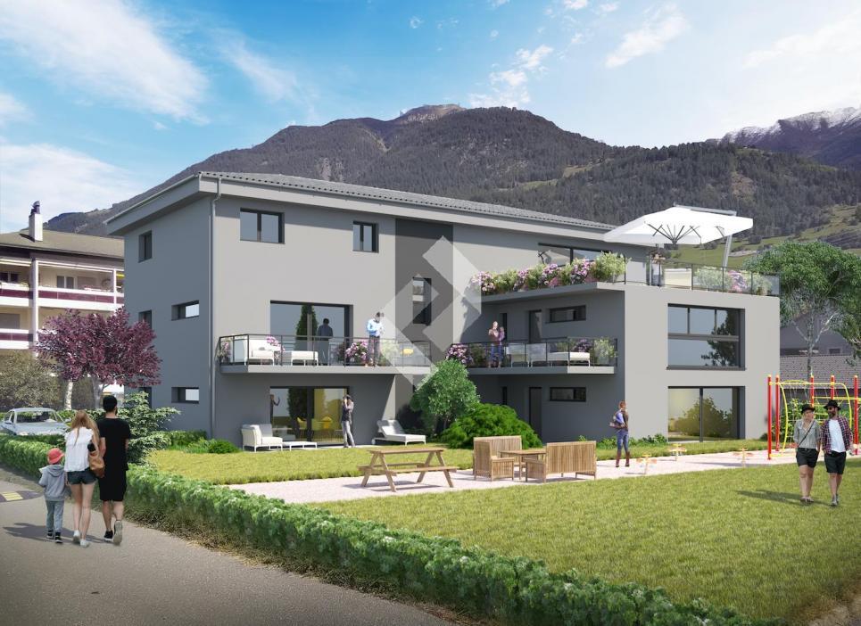 Immeuble neuf en PPE de 5 appartements - du 2.5 au 4.5 pces