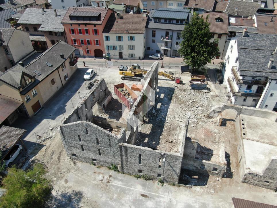 Appartement 2.5 pièces neuf au centre de Martigny