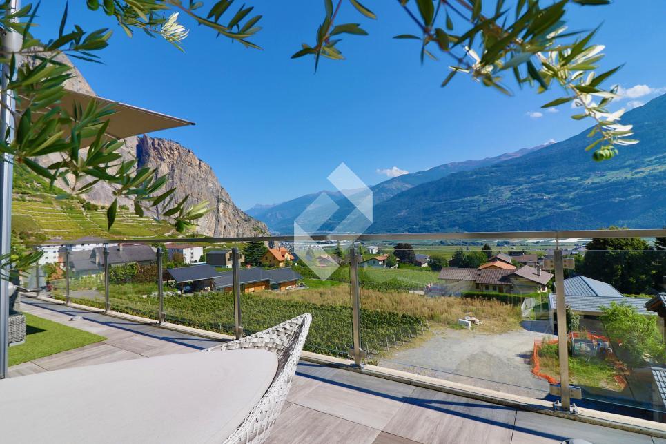 Attique d'exception avec terrasse de 75 m2 au coeur du vignoble !