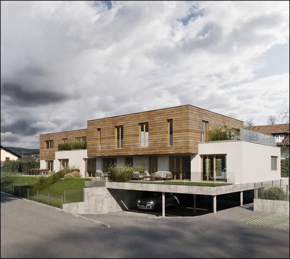 Magnifique villa mitoyenne de 5,5 pièces à vendre sur plan