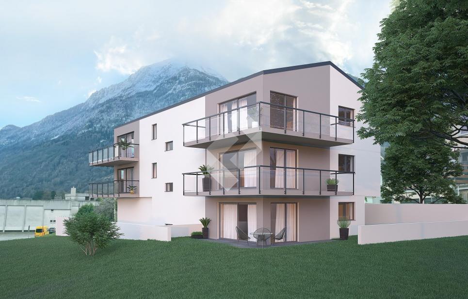 Petite résidence en PPE de 5 appartements neufs